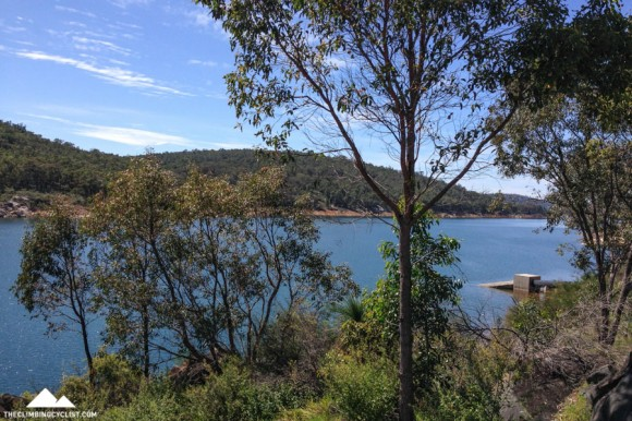 Views of Mundaring Weir.
