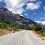 Cycling New Zealand 2015: climbing The Remarkables