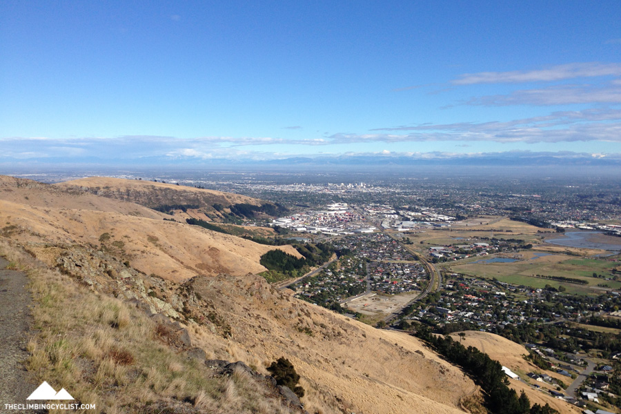 Views over Christchurch from Summit Road.
