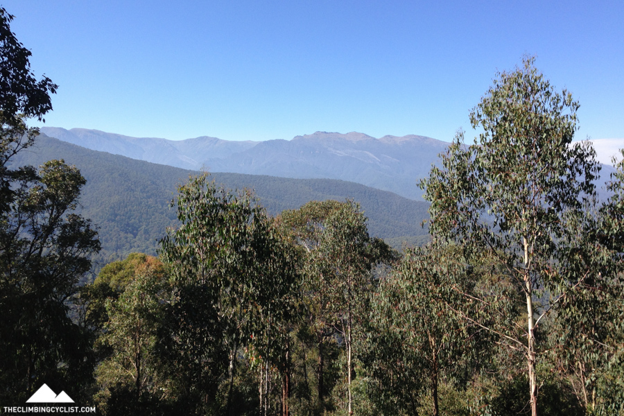 View from the Scammell Spur lookout.
