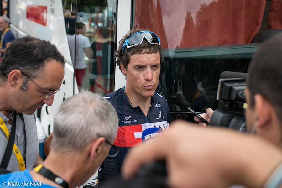 French favourite, Sylvain Chavanel.