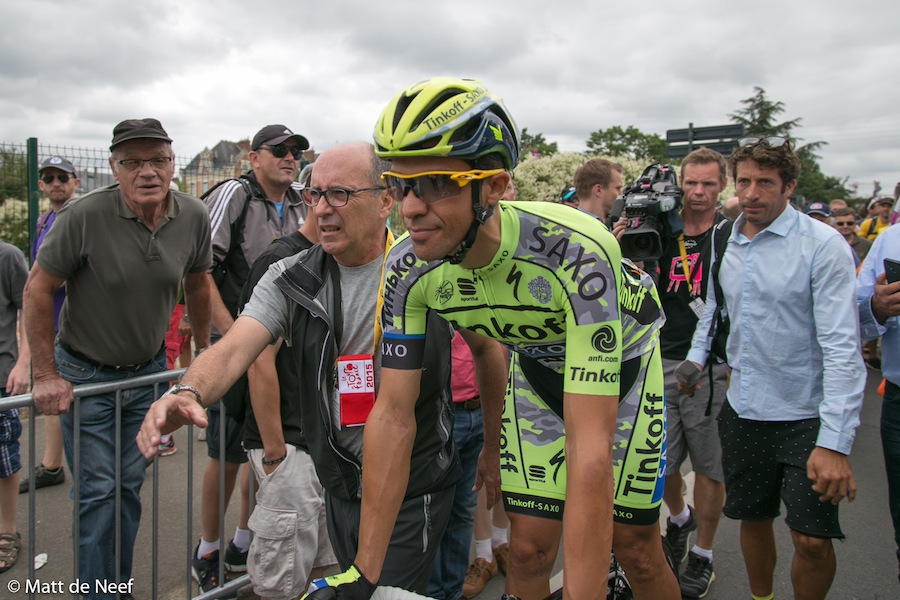 Alberto Contador, winner of the 2015 Giro d'Italia.