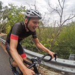 Cycling in the Adelaide Hills at the Tour Down Under