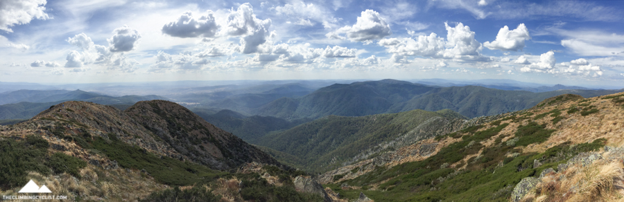 Great views from the summit of Mt. Buller.