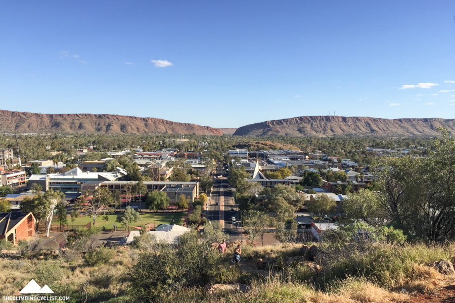 Views from Anzac Hill in Alice Springs.