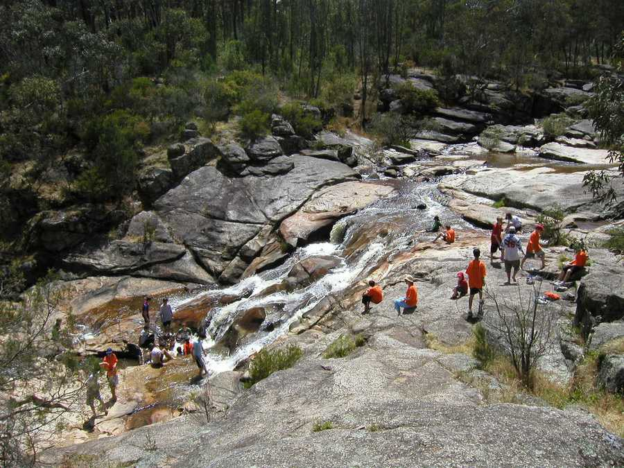 Woolshed Falls.