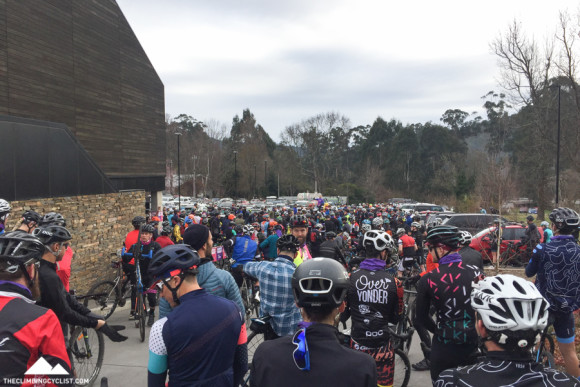 Gathered at the start in Marysville.