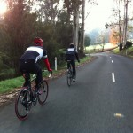More bikes than cars (a cold ride in the Dandenongs)
