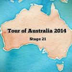 Tour of Australia 2014: stage 21